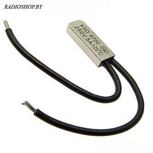 KSDI-120 120*C 5А NO термостат нормально разомкнутый