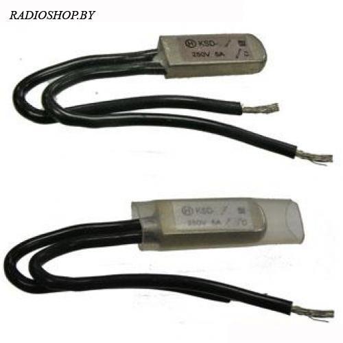 KSDI-100 100*C 5А. NO термостат нормально разомкнутый